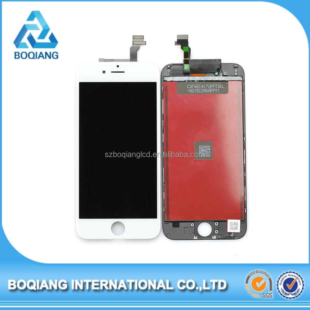 wholesale alibaba For apple iPhone 6 digitizer display Lcd Retina + touch Screen Digitizer 100% Guarantee Grade AAA lcd display