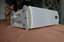 2-way dual 6inch passive line array+white color fasion design+good performance+speaker box line array system