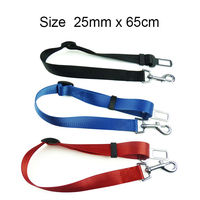 Free Shipping !!3 Colours, Strong pet/Dog Car Travel Seat Belt Clip Lead Restraint Harness Auto traction leads