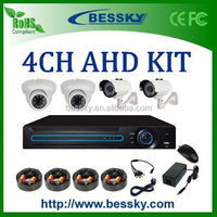 2015 aliexpress best selling 4CH dvr ,with 4 good quality cameras Bessky bulb security dvr camera ip