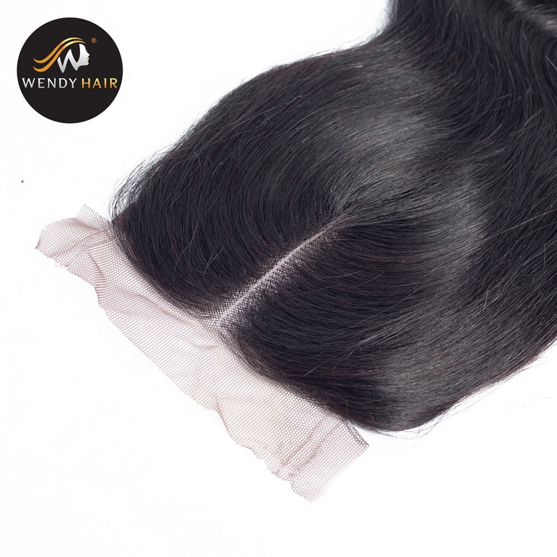 Henan Hair 7x7 lace closure raw hair unprocessed closure