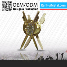 The most modern High end souvenir metal men's suit lapel pin