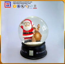 christmas decoration santa claus snow globe for sale