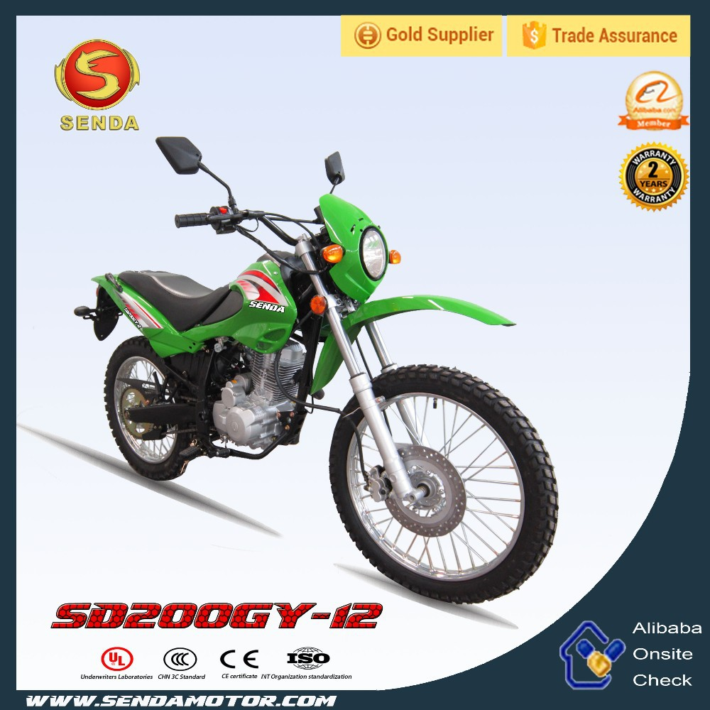 New Model Dirt Bike Off Road SD200GY-12