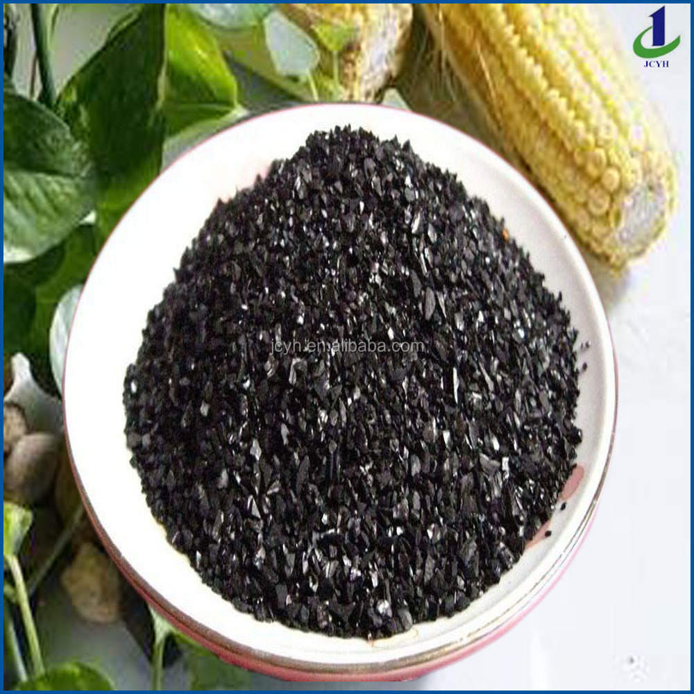 6 mesh to 16 mesh high-quality coconut shell granular activated carbon for gold recovery