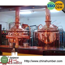 Customer trust 500L copper mini brew pub brewery equipment With CE Or ISO