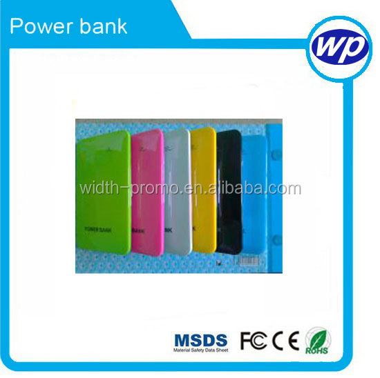 colorful cheap smart telephone mobile power supply shenzhen consumer <strong>electronics</strong> 4000mah with LCD