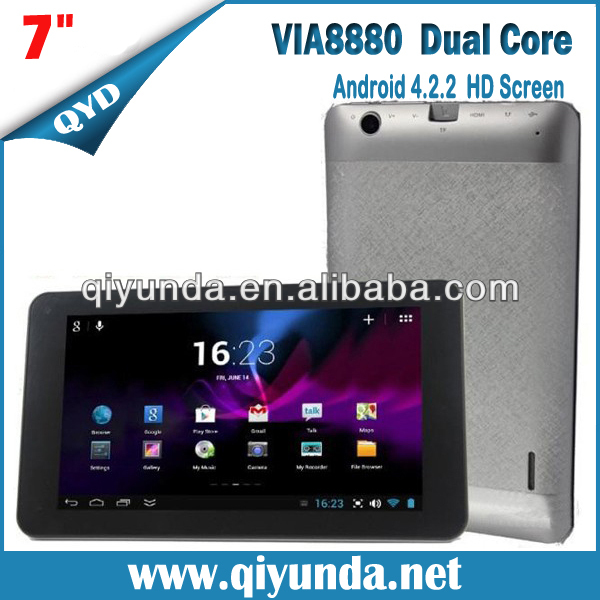 "7"" 7 inch WM8880 Q88 Dual Core WM 8880 Tablet pc HDMI"