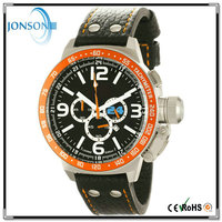 Fashion style custom logo stainless steel 3ATM waterproof japanese automatic watches