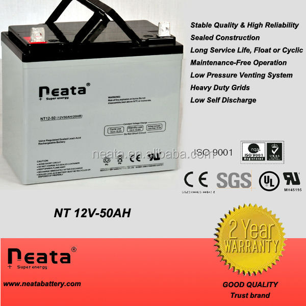 <NEATA BATTERY>Electric vehicle battery 12v50ah
