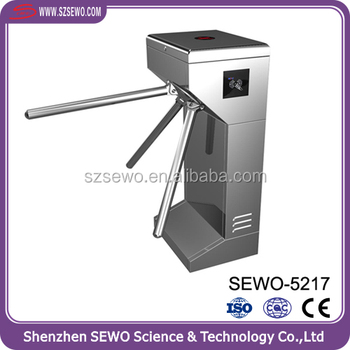 Cheap price RFID and Fingerprint Access Control turnstile gate with friendly software