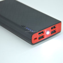 High Capacity Wholesale Good Price 4 USB Ports Power Bank, Rohs power bank 12000mAh