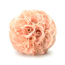 wholesale wedding Rose Flower Ball Wedding Hanging Decorations Artificial Rose Colorful Natural Touch