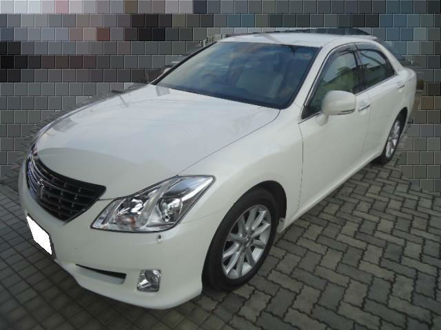 Japanese toyota crown used car sale by leading export company