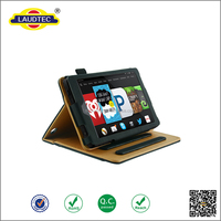 PU leater tablet case for Kindle Fire HD 6 With Stand Function