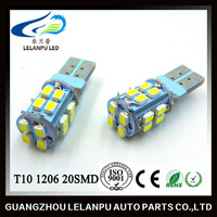 Wholesale auto Led Lamp T10 1206 canbus 20SMD led Car reading Light