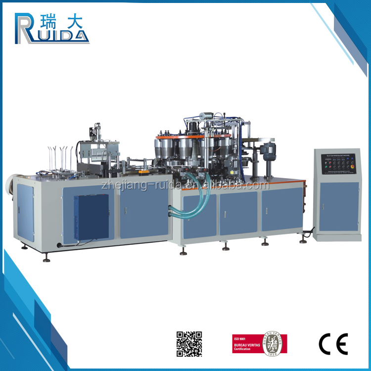 RUIDA China Manufacturing Different Types Paper Cup/Bowl/Bucket Making Machine With Ce Certification