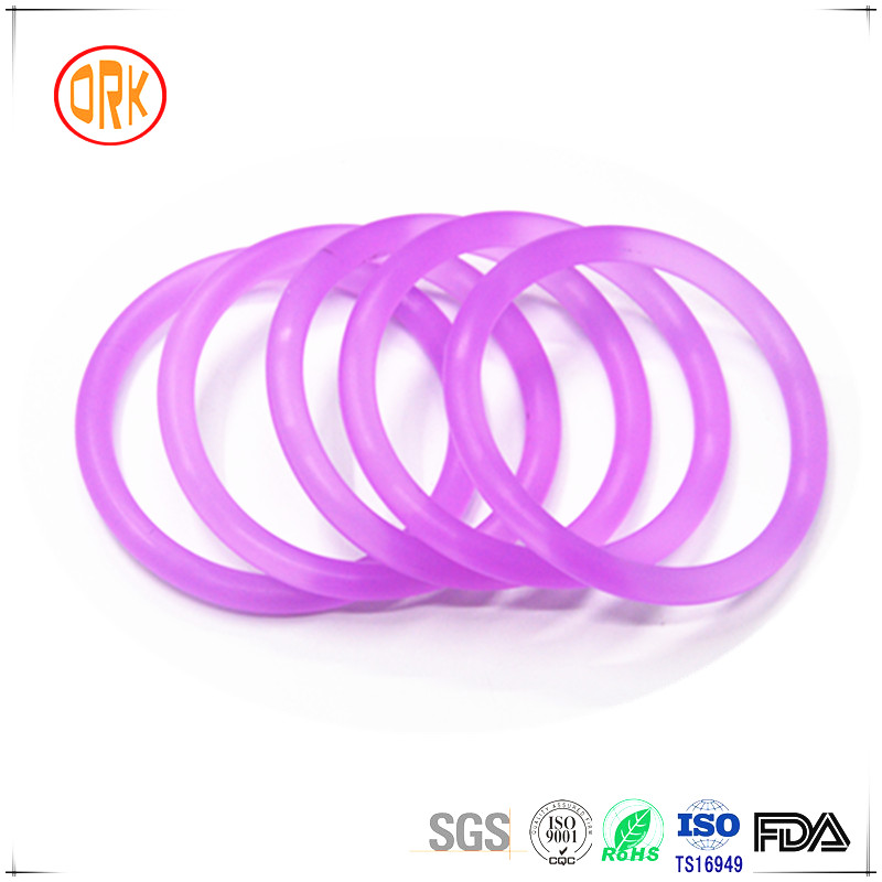 Food Grade Transperant Silicone O-ring Seals For Water Bottle