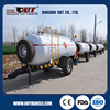 High performance 4000KG fuel tank trailer for sale