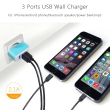 Quick Charge 3.0 A Phone Charger Fast Dual mobile phone usb wall charger for samsung galaxy
