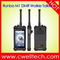 Runbo M1 4.7 inch MTK6735 Quad Core 2GB RAM 16GB ROM UHF400-480MHz or VHF136-174MHz Analog/DMR IP67 Walkie Talkie Rugged Phone