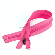 #5 open end YG rubber puller nylon zipper for amazon apparel