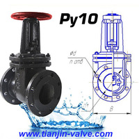 Good quality China valve manufacturer pn16 dn250 gost gate valve
