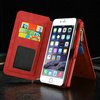 Luxury PU Leather Weaving Mobile Phone Cover for iphone 6s Plus Wallet Case