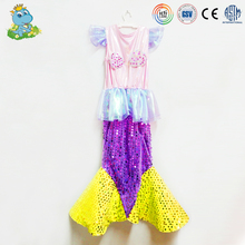 Cheap mermaid princess fancy dress costumes for kids
