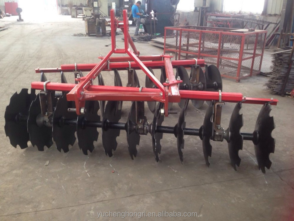 Farm machinery tractor matched disc harrow