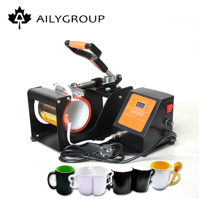 Hottest cup mug printing machine transfer heated