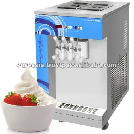 FROZEN YOGURT - TABLE-TOP FROZEN YOGURT ICE CREAM MACHINE
