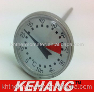 Christmas sale cheap multi use pocket thermometer to 100 degree with probe