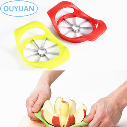 Yanjiang Ouyuan 430 Grade ABS Stainless Steel 8 -Blades Big Wedger Tool Apple Slicer Corer Divider Cutter