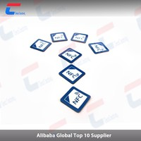 13.56mhz nfc stickers NTAG 203 compatible with all NFC mobile phone