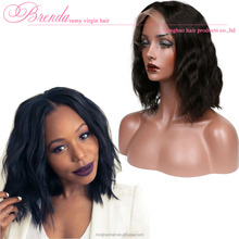 Hot Brazilian Natural Human Hair Braided Wigs For Black Women