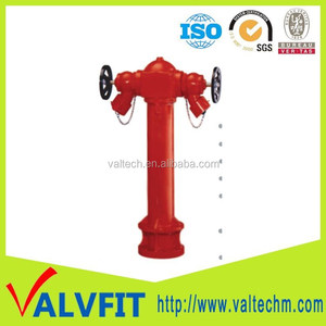 BS Ductile cast iron 2 way DN100 UNIQUE FIRE HYDRANT