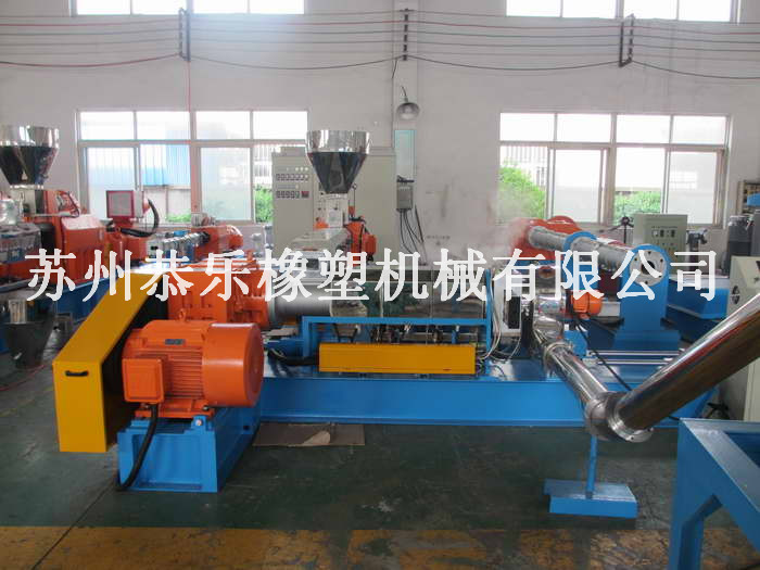 Quality professional Cable material granules making machine/ hot sale high quality rubber and plastic machinery