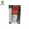 Custom Printing Laminated Aluminum Foil Matt Finished Pouch Coffee Powder Packaging Bag With Degassing Valve