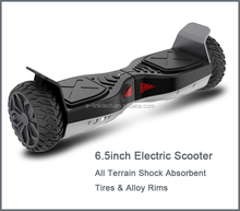 Fashional Mini 6.5inch 2 wheel self balancing hoverboard UL2272 certified with mobile App, Bluetooth for adult and children