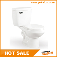 China wholesaler Hot sale siphonic two piece toilet cheap price sanitary ware