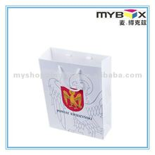 2012 Recycle market shopping paper bags with logo