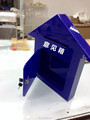 China wholesale acrylic charity donation box QCY-DO49
