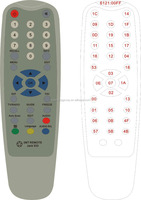 8 in 1 universal remote control codes with popular design