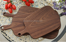 Eco- friendly walnut wooden cutting board pizza food plate walnut board tray