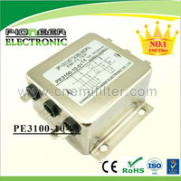 5A-200A PE3100-6-01 general purpose 3 phase emi three line filter