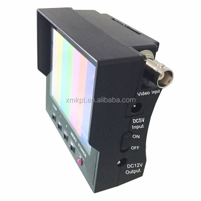 Kangput CCTV Test Monitor KPT-351+TVI Handheld Satellite Finder CCTV Camera Monitor