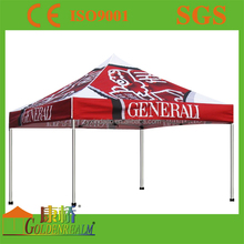 Red color outdoor car shelters, foldable tent, mobile car tent shelter 3x3m instant tent
