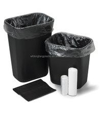 garbage bag on roll/plastic garbage bag black/garbage plastic bag from direct- factory