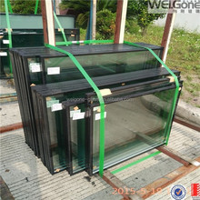 Safety insulated laminated glass for curtain wall